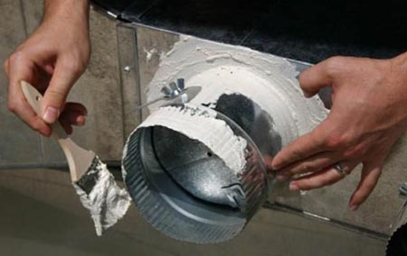 sealing commercial ducts