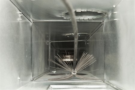 ducts inside a home