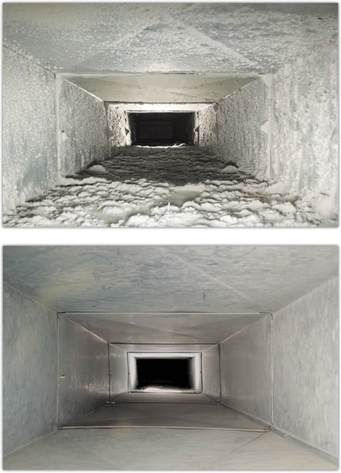cleaning ducts services