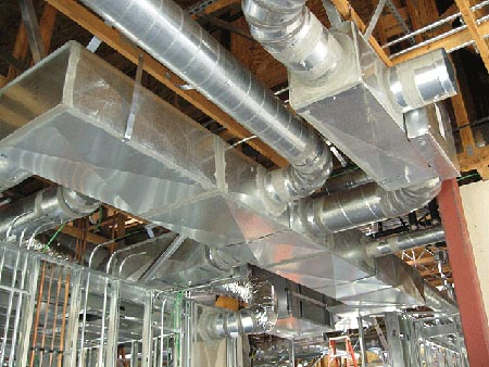 commercial ductwork cleaning