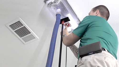 air duct cleaning in property at fort worth
